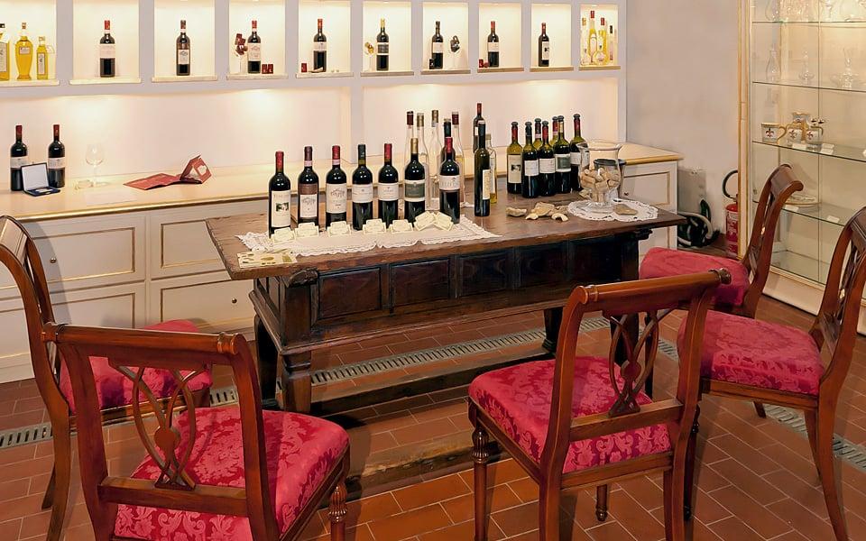 Degustazione di tre vini